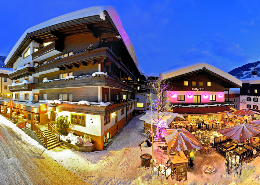 Ski holiday hotels in saalbach hinterglemm austria ski for Leogang design hotel